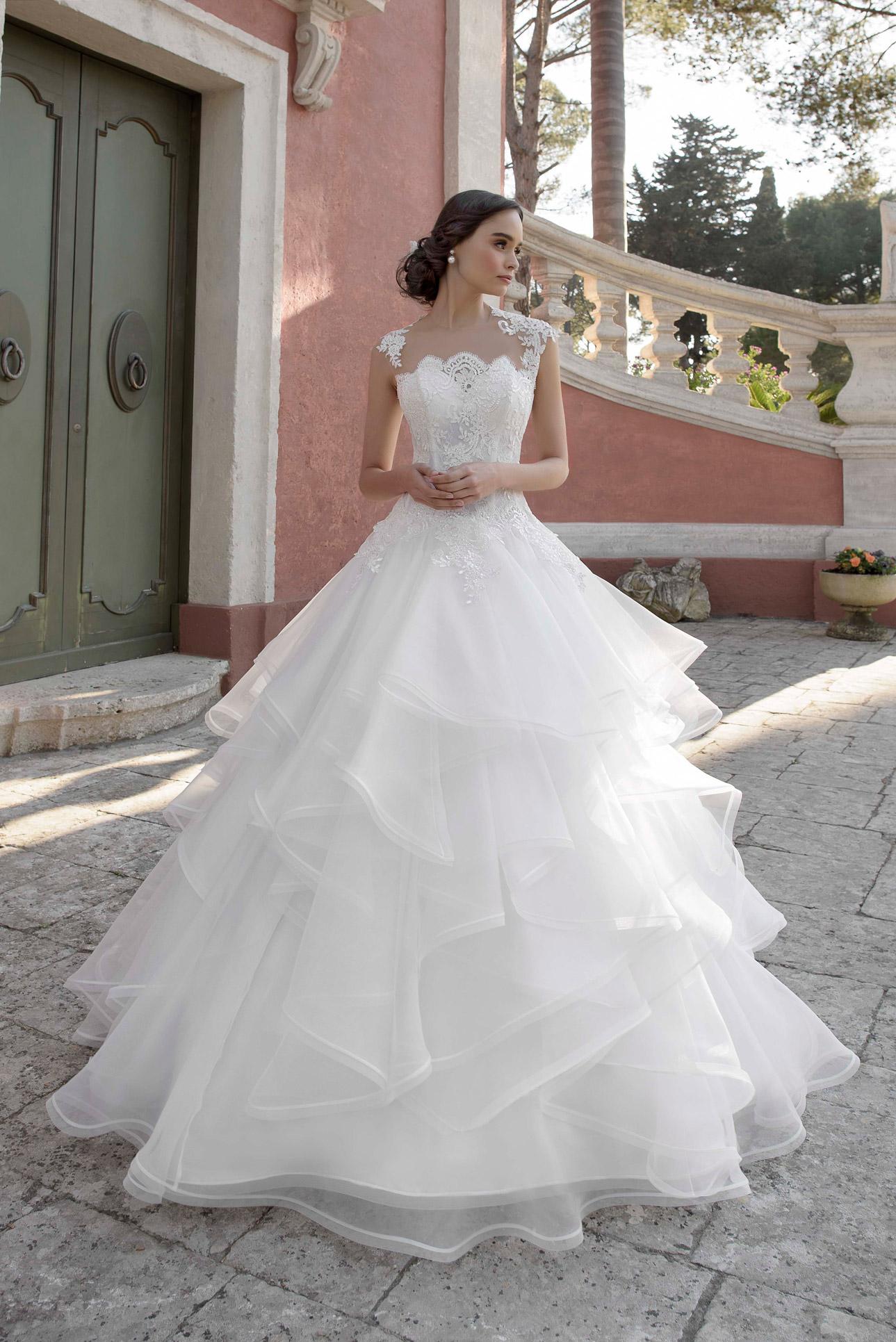7ffdf316e6ce Creazioni Elena Collezione Jacqueline 2018 - Stefania Spose Parma