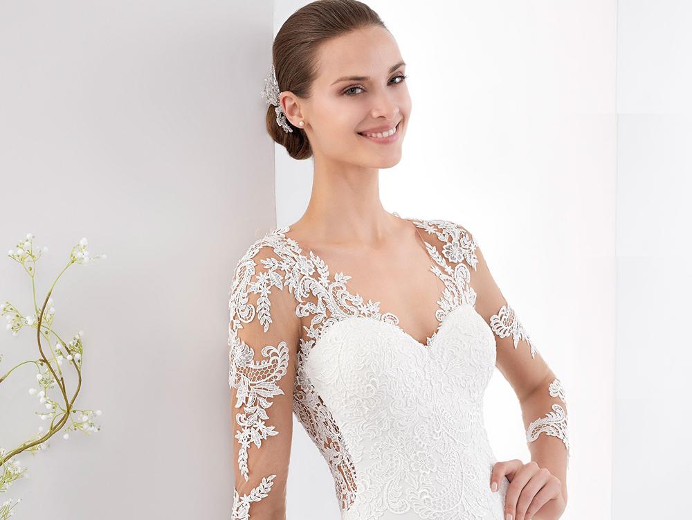 c2153c2c1a69 10 splendidi abiti da sposa a sirena per il 2018