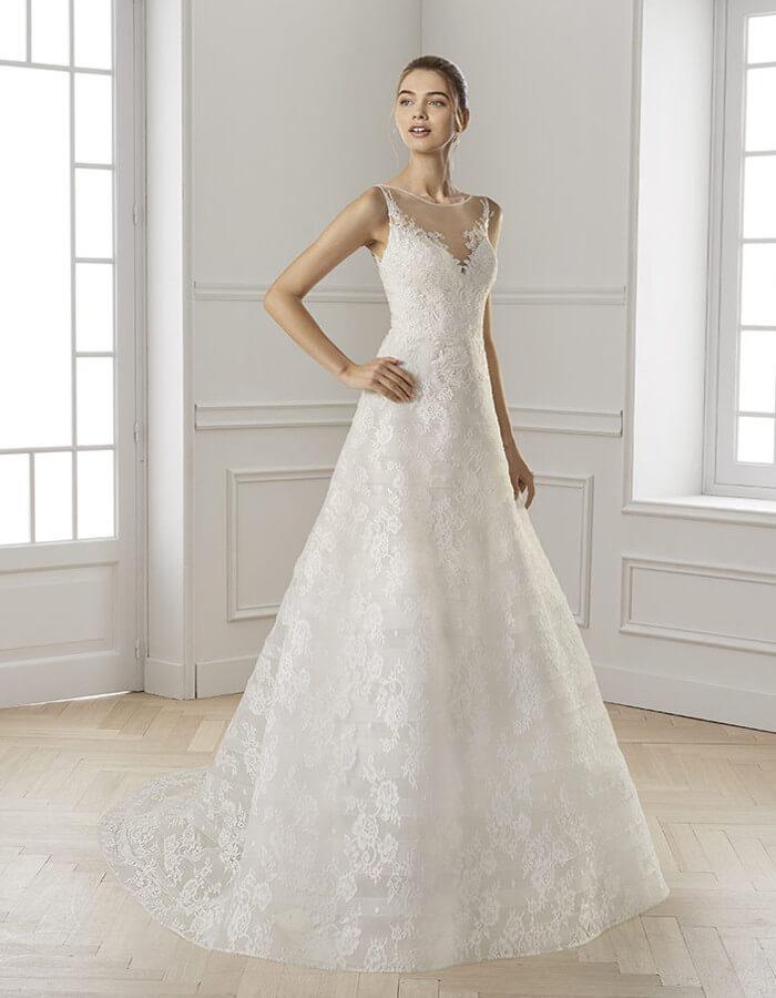 economico per lo sconto aacf2 eb21c Abiti da sposa semplici, eleganti e raffinati per il 2019