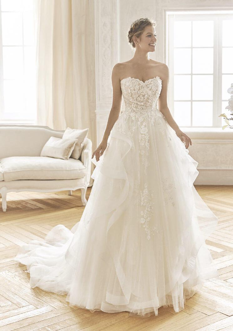 pretty nice 4ae8f 32a2e 10 abiti da sposa perfetti per il rito civile